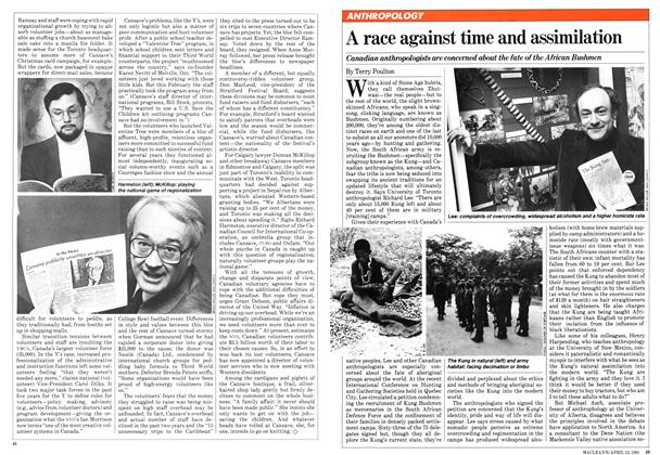Article Preview: A race against time and assimilation, April 1981 | Maclean's