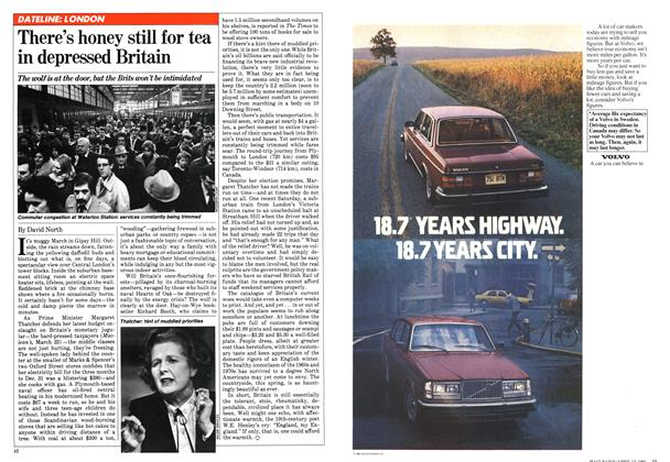 Article Preview: There's honey still for tea in depressed Britain, April 1981 | Maclean's