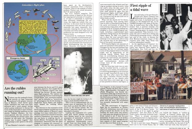 Article Preview: First ripple of a tidal wave, April 1981 | Maclean's