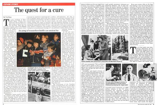 Article Preview: The quest for a cure, April 1981 | Maclean's