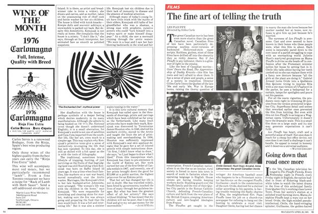 Article Preview: The fine art of telling the truth, April 1981 | Maclean's