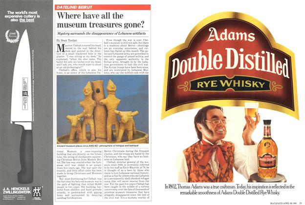 Article Preview: Where have all the museum treasures gone?, April 1981 | Maclean's