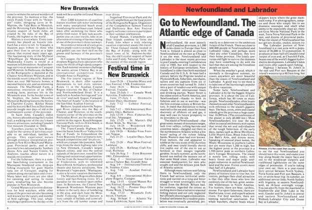 Article Preview: Festival time in New Brunswick, April 1981 | Maclean's