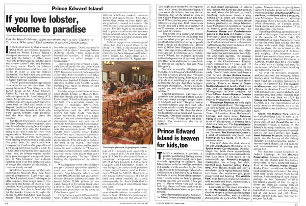 Article Preview: If you love lobster, welcome to paradise, April 1981 | Maclean's