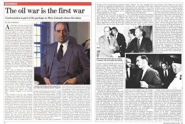 Article Preview: The oil war is the first war, April 1981 | Maclean's