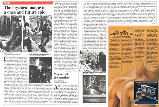 Article Preview: The mythical magic of a once and future epic, April 1981 | Maclean's