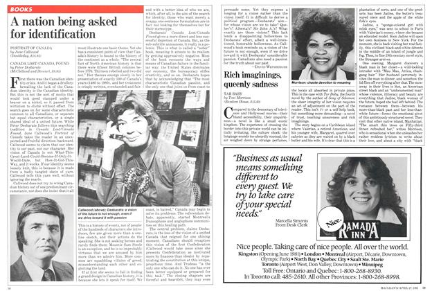 Article Preview: Rich imaginings, queenly sadness, April 1981 | Maclean's