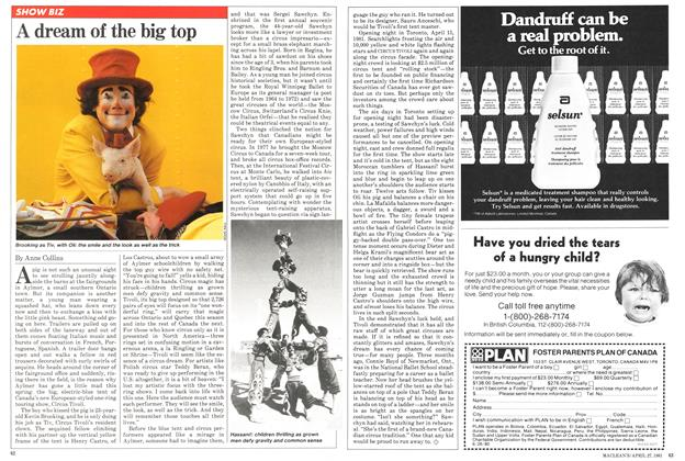 Article Preview: A dream of the big top, April 1981 | Maclean's