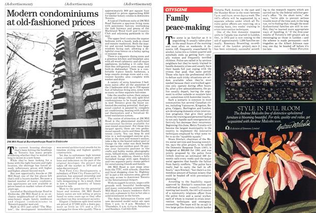 Article Preview: Family peace-making, May 1981   Maclean's