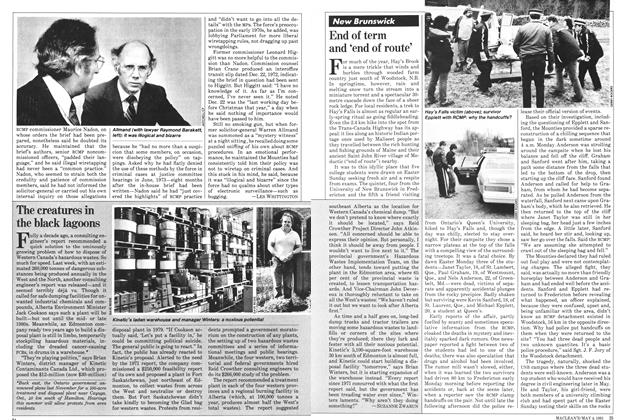 Article Preview: End of term and 'end of route', May 1981 | Maclean's