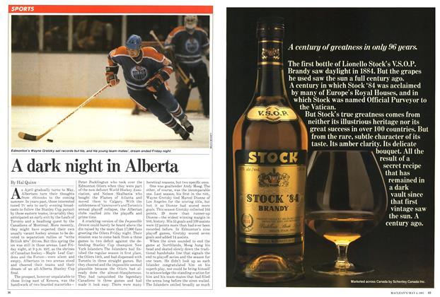 Article Preview: A dark night in Alberta, May 1981   Maclean's