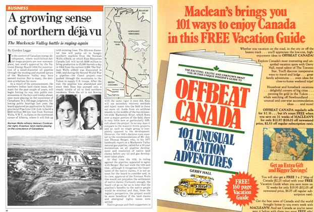 Article Preview: A growing sense of northern déjà vu, May 1981 | Maclean's
