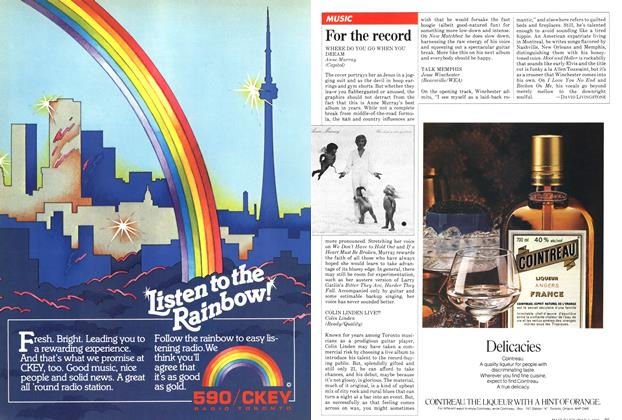 Article Preview: For the record, May 1981 | Maclean's