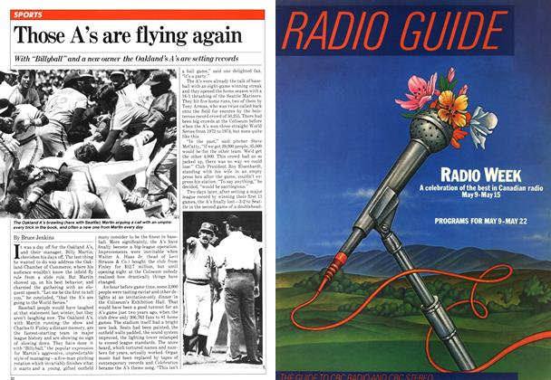 Article Preview: Those A's are flying again, May 1981 | Maclean's
