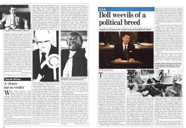Article Preview: Boll weevils of a political breed, May 1981 | Maclean's