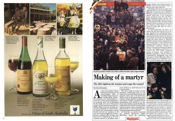 Article Preview: Making of a martyr, May 1981 | Maclean's
