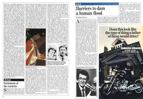 Article Preview: Barriers to dam a human flood, May 1981 | Maclean's