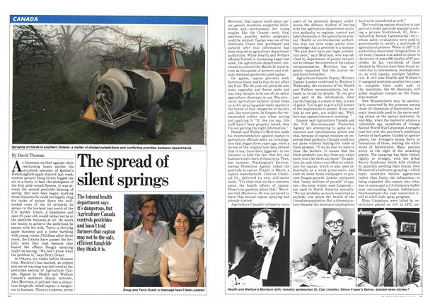 Article Preview: The spread of silent springs, May 1981 | Maclean's