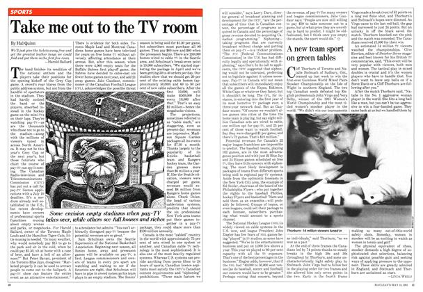 Article Preview: Take me out to the TV room, May 1981   Maclean's