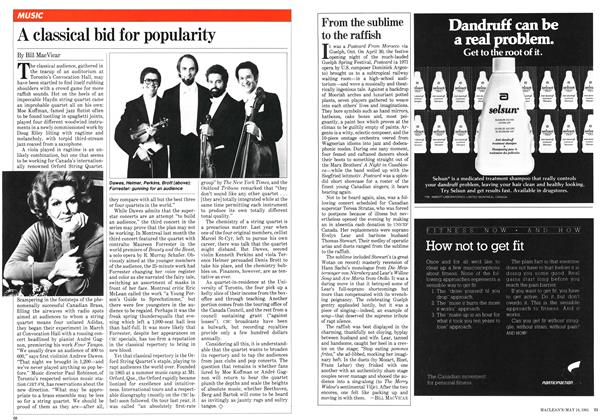 Article Preview: A classical bid for popularity, May 1981 | Maclean's