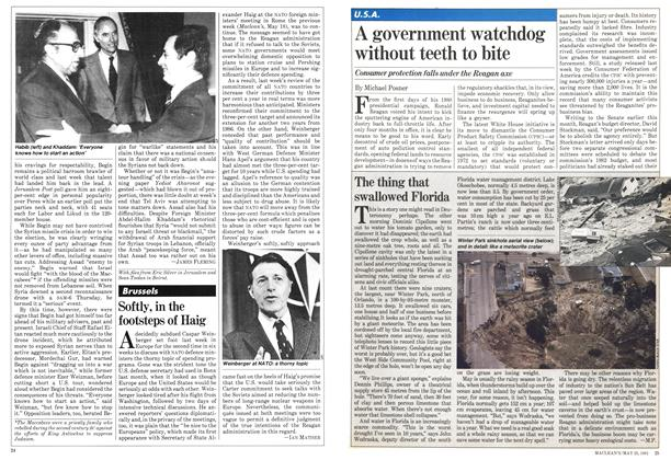 Article Preview: A government watchdog without teeth to bite, May 1981 | Maclean's