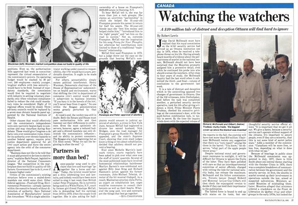 Article Preview: Watching the watchers, May 1981 | Maclean's