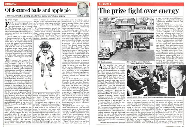 Article Preview: The prize fight over energy, May 1981 | Maclean's