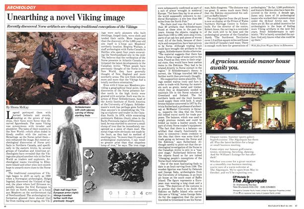 Article Preview: Unearthing a novel Viking image, May 1981 | Maclean's