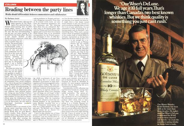 Article Preview: Reading between the party lines, May 1981   Maclean's