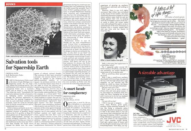 Article Preview: A smart facade for complacency, May 1981 | Maclean's