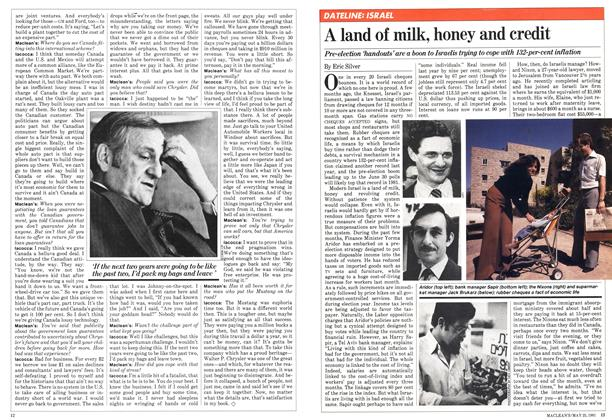 Article Preview: A land of milk, honey and credit, May 1981 | Maclean's
