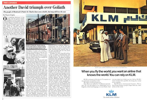 Article Preview: Another David triumph over Goliath, June 1981   Maclean's