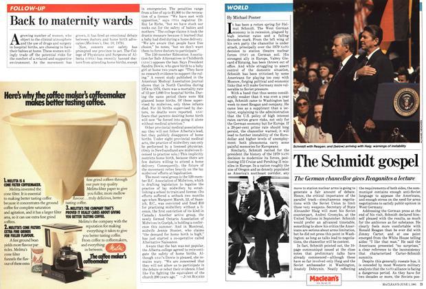 Article Preview: The Schmidt gospel, June 1981 | Maclean's