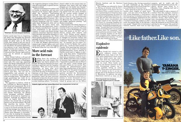 Article Preview: Explosive epidemic, June 1981 | Maclean's
