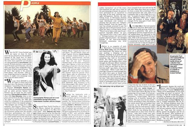 Article Preview: PEOPLE, June 1981   Maclean's