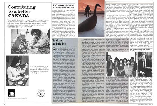 Article Preview: Training at Tuk Tek, June 1981 | Maclean's