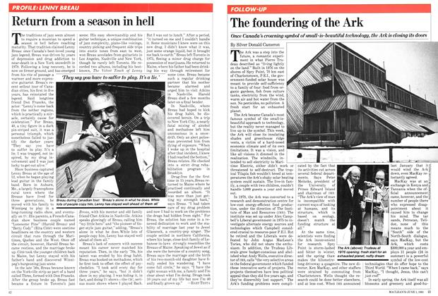 Article Preview: The foundering of the Ark, June 1981 | Maclean's