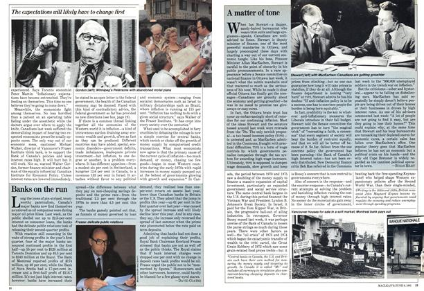 Article Preview: A matter of tone, June 1981 | Maclean's