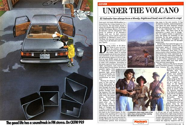 Article Preview: UNDER THE VOLCANO, June 1981 | Maclean's
