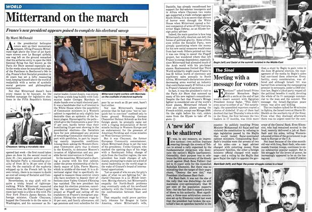 Article Preview: Mitterrand on the march, June 1981 | Maclean's