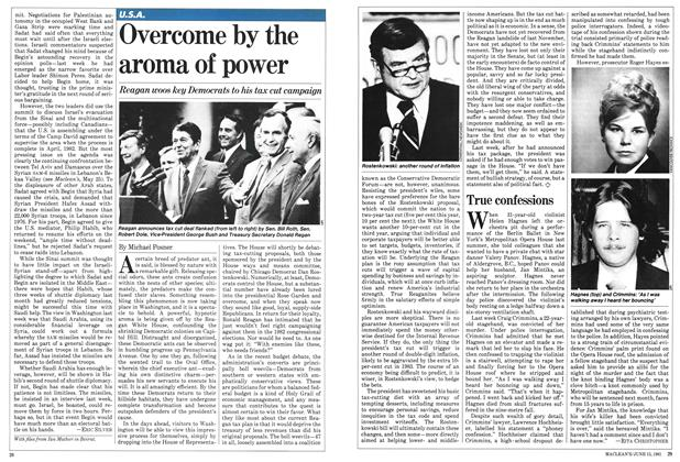 Article Preview: Overcome by the aroma of power, June 1981 | Maclean's