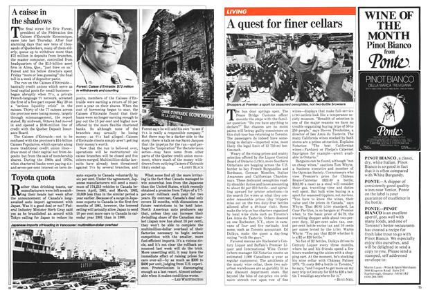 Article Preview: A caisse in the shadows, June 1981 | Maclean's