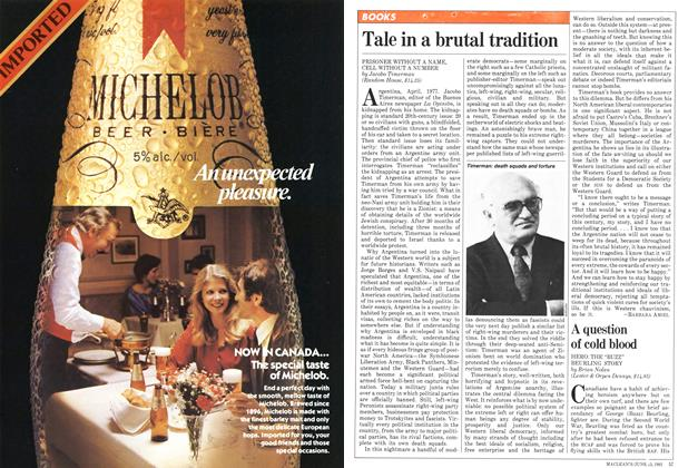 Article Preview: Tale in a brutal tradition, June 1981 | Maclean's