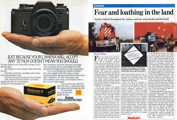 Article Preview: Fear and loathing in the land, June 1981 | Maclean's