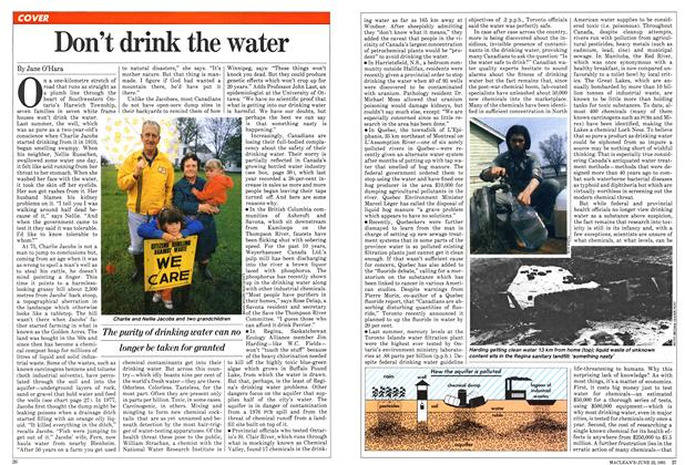 Article Preview: Don't drink the water, June 1981 | Maclean's