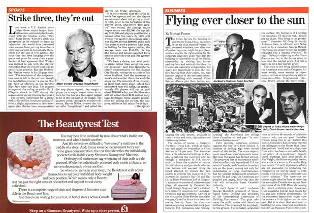 Article Preview: Flying ever closer to the sun, June 1981 | Maclean's