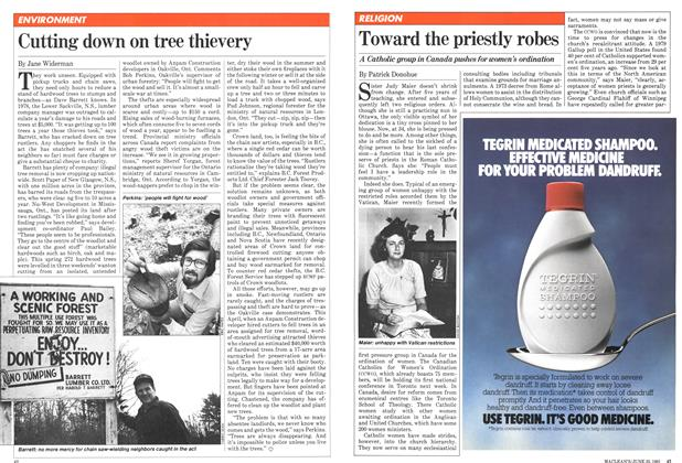 Article Preview: Toward the priestly robes, June 1981 | Maclean's