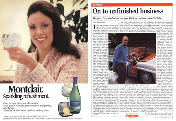 Article Preview: On to unfinished business, June 1981 | Maclean's
