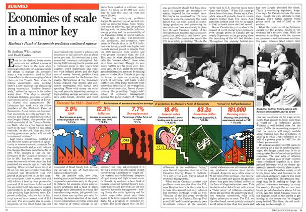 Article Preview: Economies of scale in a minor key, June 1981 | Maclean's