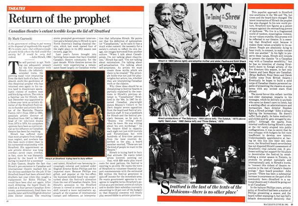 Article Preview: Return of the prophet, June 1981 | Maclean's